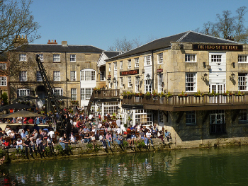 The Head of the River Pub in Oxford.