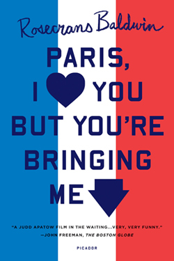 Paris I love you but you're bringing me down.