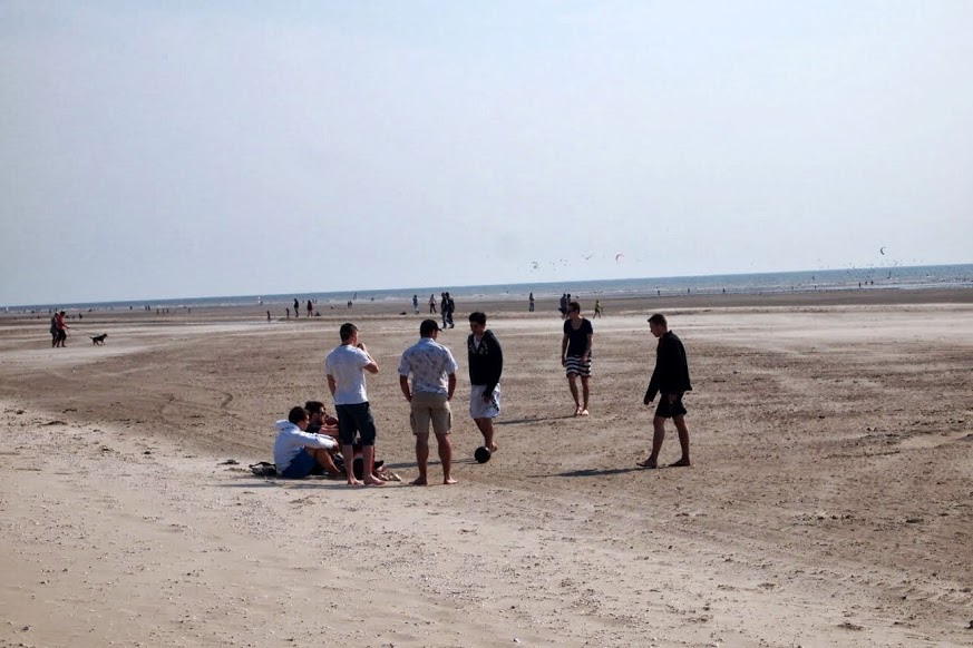The beach at La-Touquet.