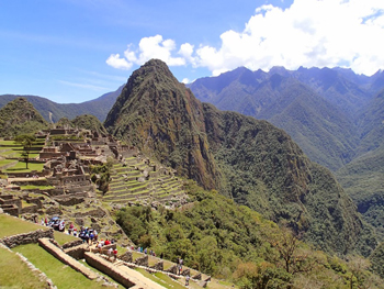 The awesomeness of Machu Picchu. No matter how crowded it is, it's a bucket list check-off, big time.