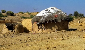 Village life in Thar.