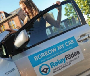 RelayRides set up borrowers and lenders to use private cars.