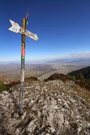 Piatra Craiului, in the mountains of Romania.