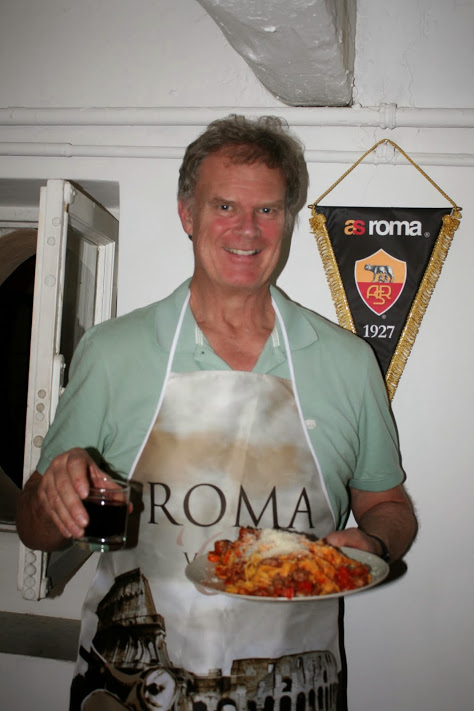 You don't get to eat out every night when you retire in Rome.