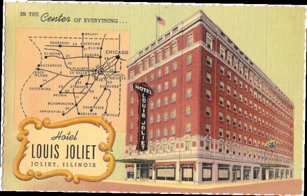 Hotel Joliet Postcard - pg. 22