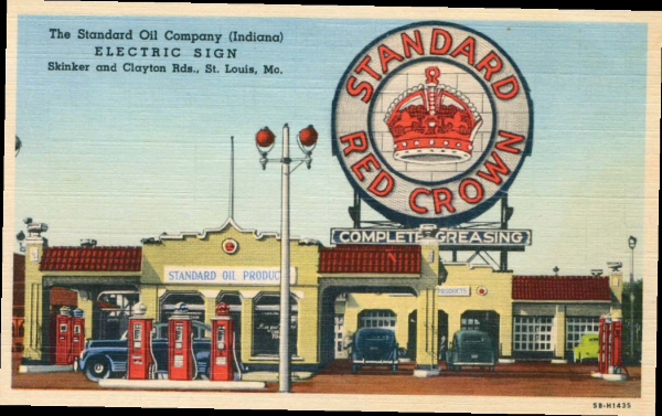 Standard Oil Postcard