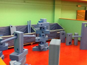 imagination playground at the San Antonio Children's Museum.