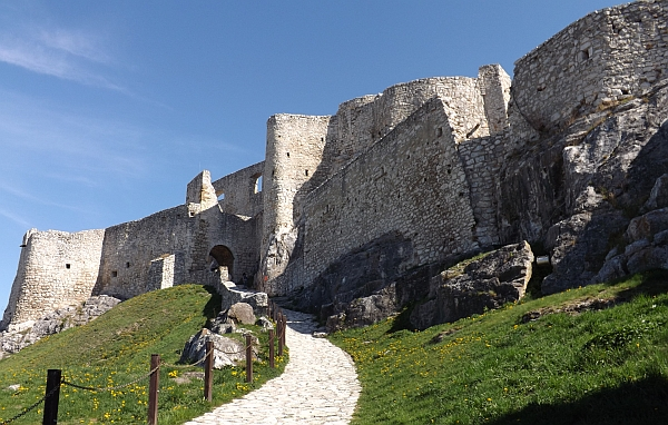 """Slovakia tries to shake off the underdog label and join its neighbors in luring tourists to a """"Capital of Culture"""" in Košice. Spic Castle"""