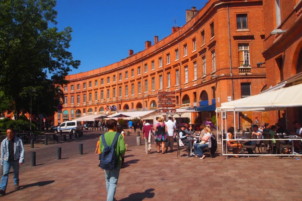 Cty center of Toulouse