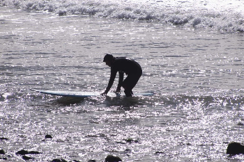 Many of the surfers we saw in Ventura were in their 50s and 60s.