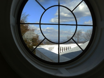 View from the dome at Monticello