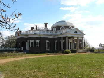 Monticello, Thomas Jefferson's mountaintop home, receives more than half a million visitors a year.