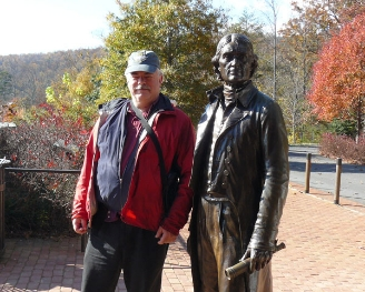 Stephen Hartshorne visits his friend Thomas Jefferson at Monticello.