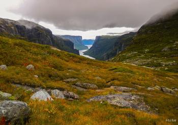 Dramatic fall colors in Western Newfoundland. CJ Reid photos.