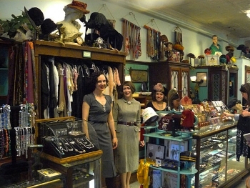 Bygones, vintage clothing in the Carytown neighborhood of Richmond VA.