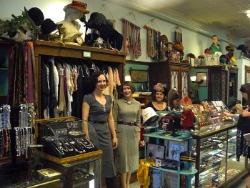 Bygones, vintage clothing in the Carytown neighborhood of Richmond VA.