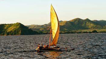 A Madagascar sailboat.