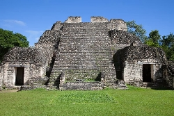 Mayan ruins in Belize. photo by Paul Shoul.