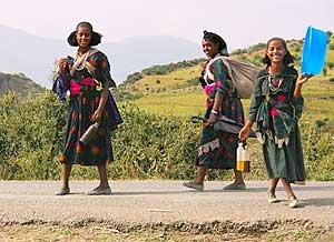 Friendly Ethiopians