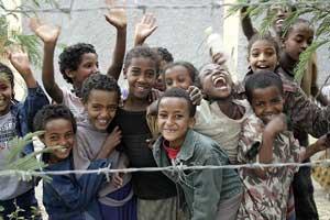 Optimism shines through - Children in Ethiopia