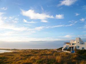 A view of Formentera's coastline