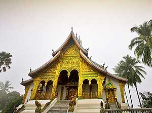 Temple in Louang Phrabang