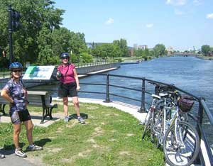 The famed Lachine Canal