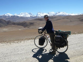 Cycling in Nepal at the top of the Himalayas - photos by Rebecca Gados.