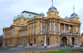 National Theater, Zagreb. photo by Pennington.