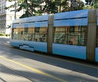 Zagreb's trams.