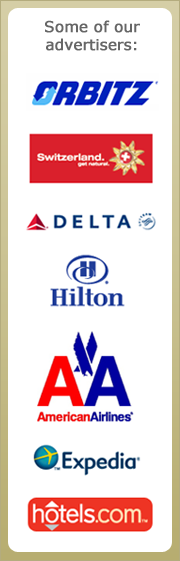 Some of the advertisers on GoNOMAD Travel.