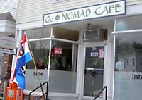 The GoNOMAD Cafe in downtown South Deerfield, MA was open from 2006-2011.