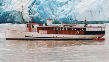 The Discovery yacht for Alaska Yacht Charters