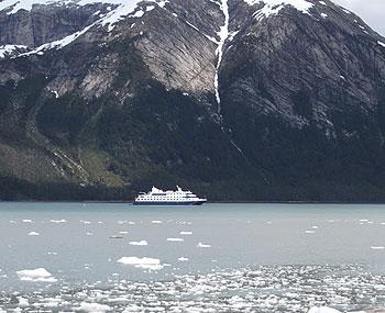 The Mare Australis near the Pia Glacier