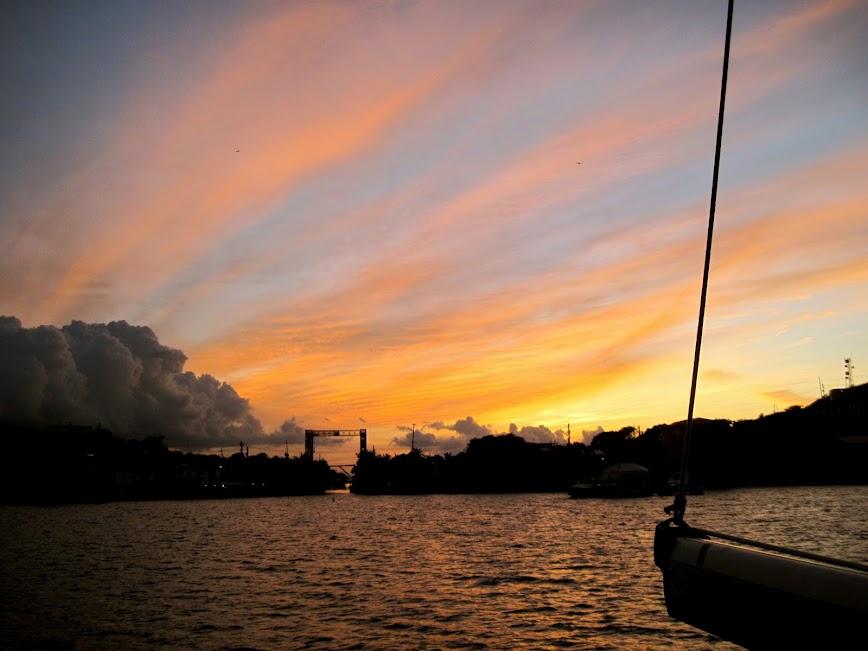 Sunset by Jean Miller Spoljaric.