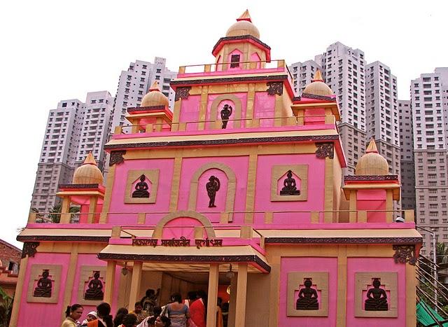 Durga Pujo Festival in Kolkata, India