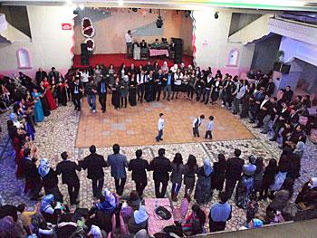 Traditional Kurdish wedding dance