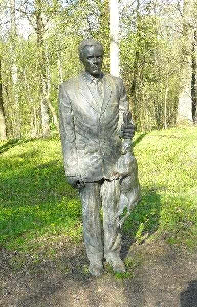 And well he should. He's caught a rabbit! At the Park, Evaldas Pauza, Lithuania
