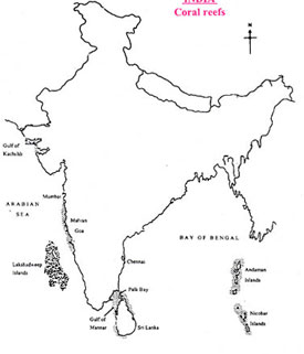 Andaman and Nicobar are at the lower right of this map.