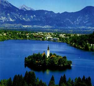 Bohinj in the Julian Alps of Slovenia. Photo from www.caingram.info