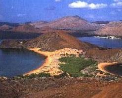 The Galapagos comprise more than a dozen different islands off the coast of Ecuador.
