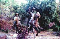 Don Quixote in Guanajauto.
