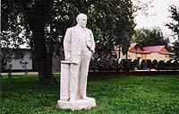 The Sculpture Park where monuments rest.