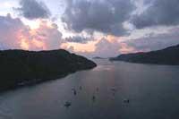 Acapulco harbor.