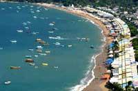 The Blue Crescent, Acapulco Bay.