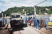 The ferry over to the island.