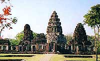 Temple in Phimai.