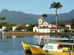 The harbor in Paraty