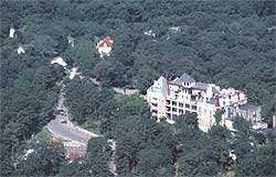 The 1886 Crescent Hotel in Eureka Springs.
