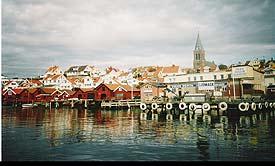 Beautiful Fjallbacka, Sweden, by the sea. photos by David Yawn.